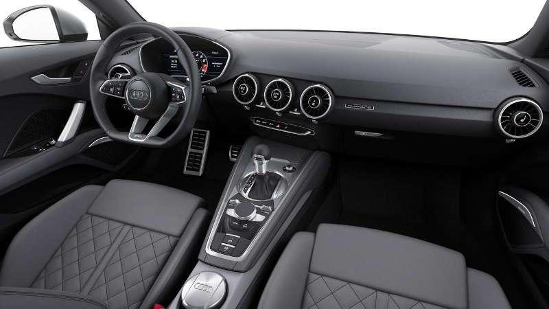Audi TT 5 Interior Design