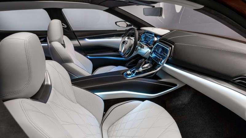 Nissan Maxima 2016 Interior Design