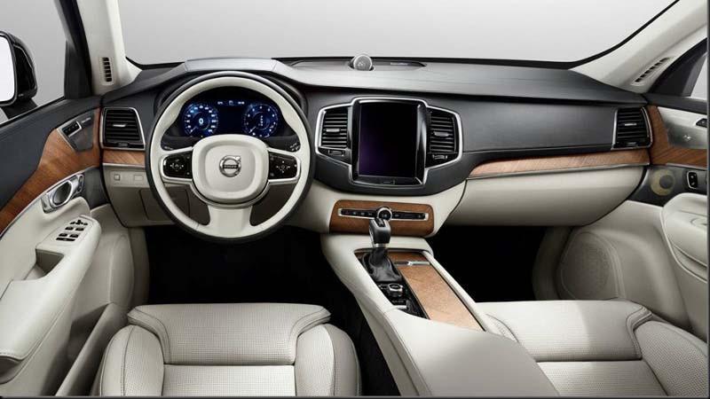 Volvo XC90 Interior Design