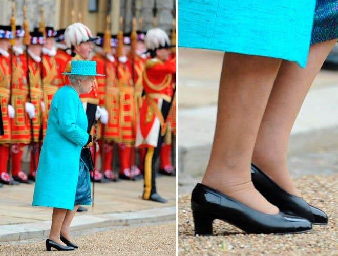 the latest 2d3d9 cbeea Il made in Italy delle scarpe della Regina Elisabetta ...