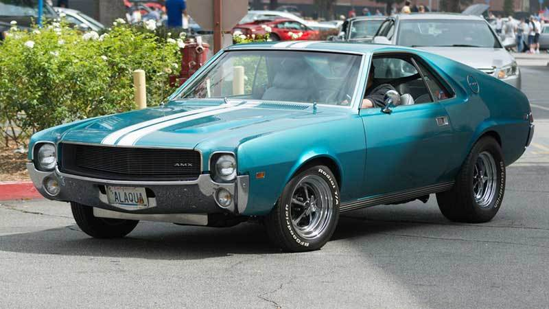 AMC AMX Muscle Car