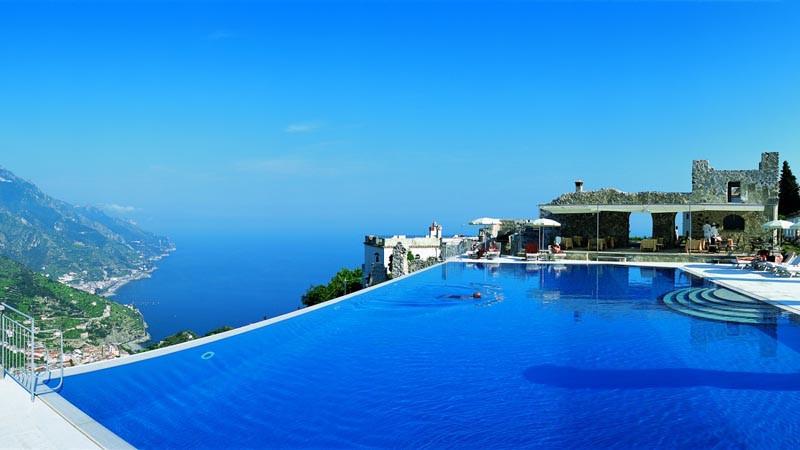 Hotel Caruso Salerno Infinity Pool