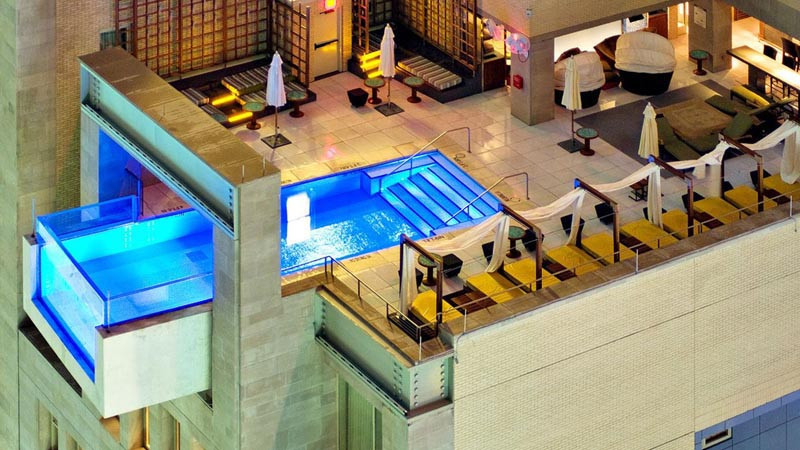 Joule Hotel Dallas Infinity pool
