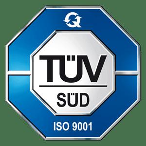 TÜV ISO9001-Zertifizierung