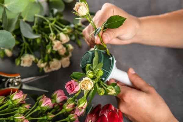 4 step per diventare flower designer Italian Design Institute