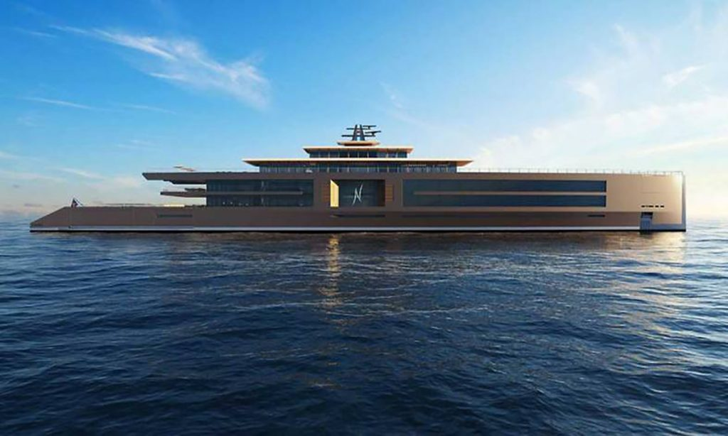 nature il super yacht da sogno italian design institute