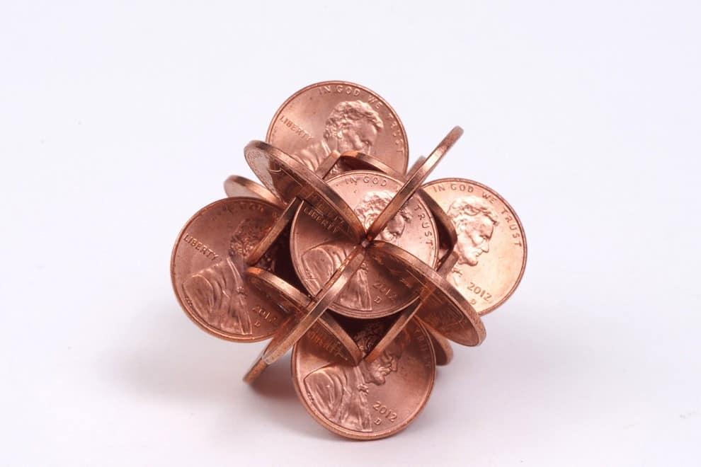 sculture di monete idi 2