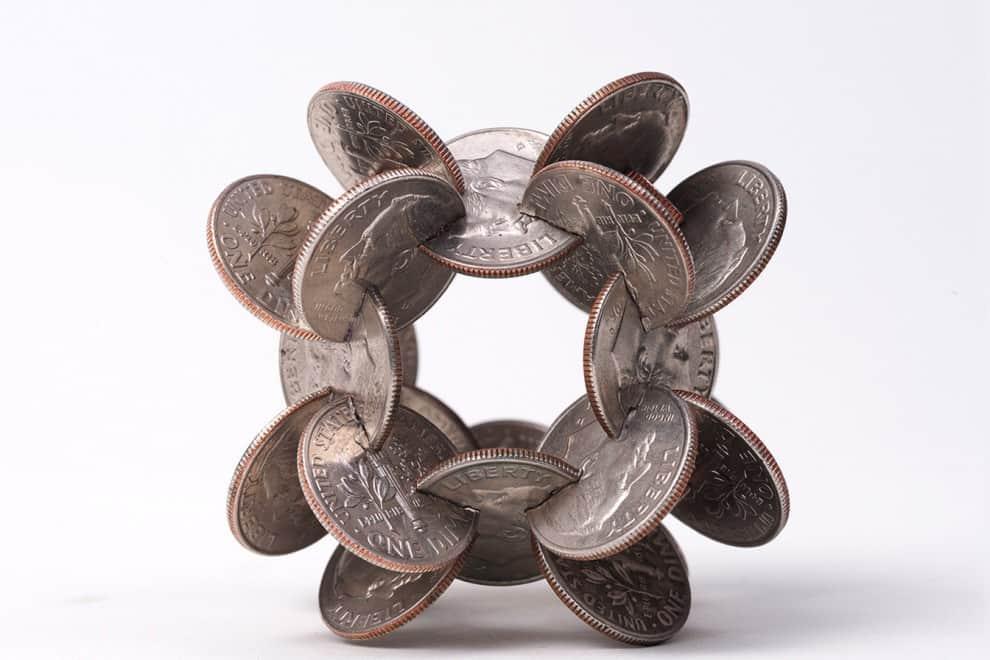 sculture di monete idi 3