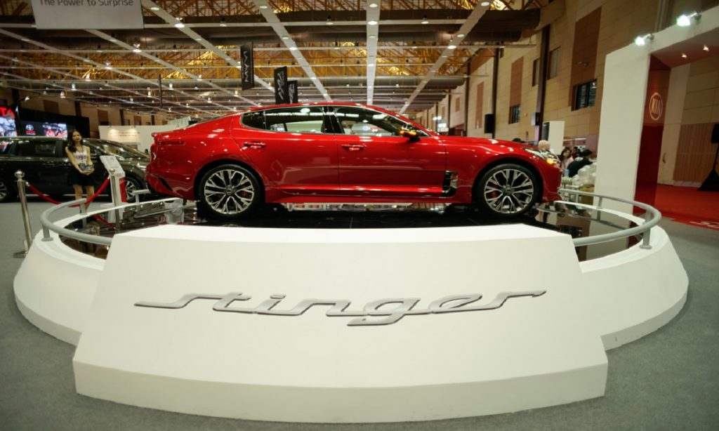 kia stinger italian design institute