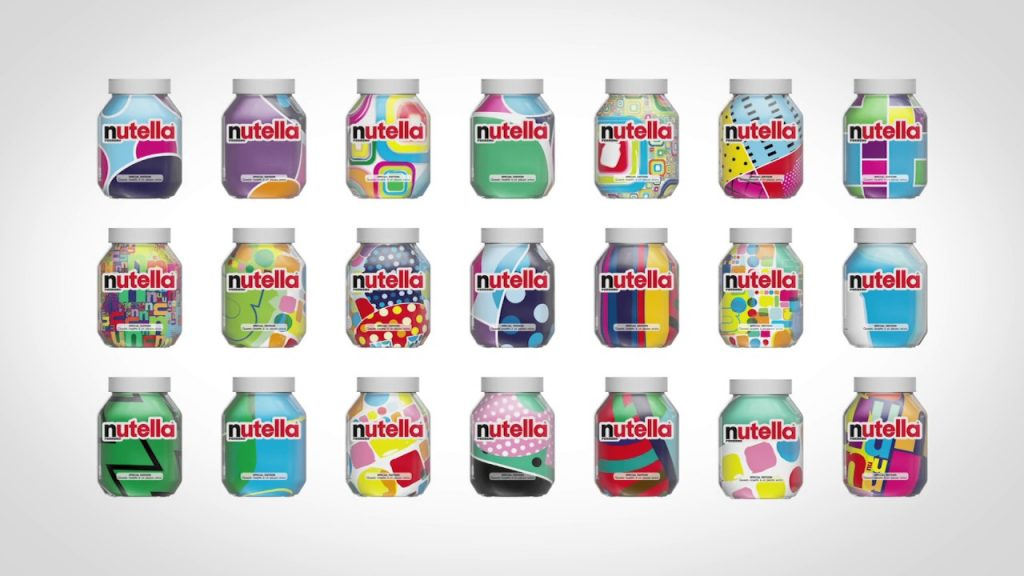 nutella unica packaging design italian design institute